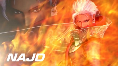 King of Fighters XIV - Najd DLC Character Trailer