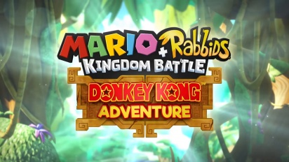 Mario + Rabbids Kingdom Battle - Donkey Kong's Adventure Gameplay Details and Interview
