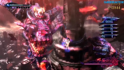 Bayonetta 2 - Gomorrah Nintendo Switch Gameplay