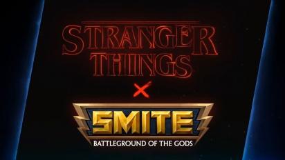 Smite x Stranger Things - Battle Pass Trailer
