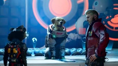 Marvel's Guardians of the Galaxy - Cinématique de Cosmo