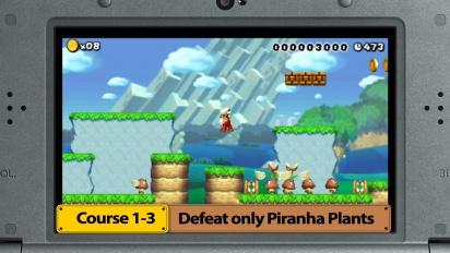 Super Mario Maker for Nintendo 3DS – Medal Challenges trailer