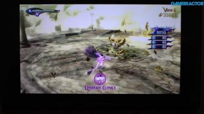 Bayonetta 2 - Du gameplay en mode nomade sur Switch