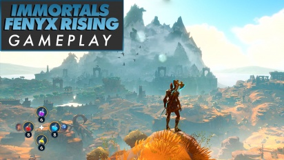 Immortals: Fenyx Rising - Gameplay