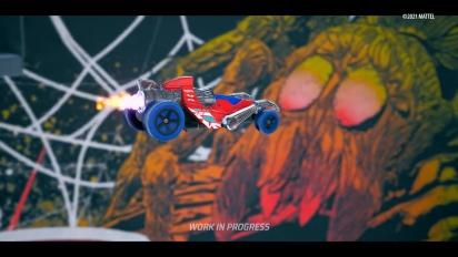 Hot Wheels Unleashed - Skatepark Level Trailer