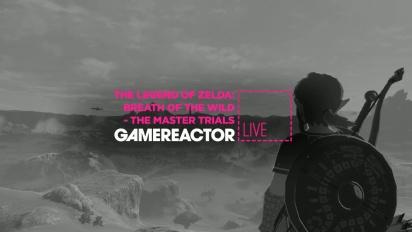 The Legend of Zelda: Breath of the Wild - The Master Trials DLC - Livestream Replay