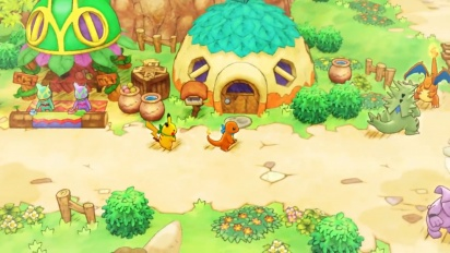 Pokémon Mystery Dungeon: Rescue Team DX - Gameplay Trailer