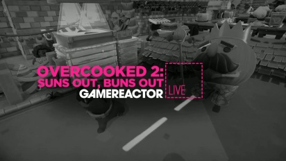 Overcooked 2: Suns Out, Buns Out - Livestream Replay