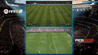 FIFA 18 vs PES 2018 : Notre comparaison