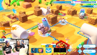 Mario + The Lapins Crétins : Kingdom  - Co-op Gameplay