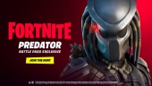 Fortnite - The Predator Arrives Through the Zero Point