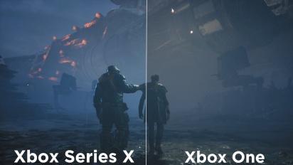 Star Wars Jedi: Fallen Order - Xbox One vs Xbox Series X