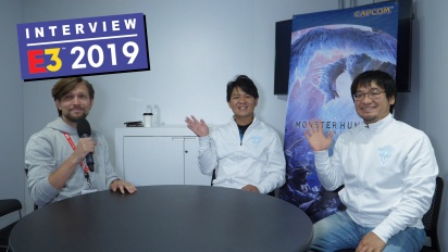 Monster Hunter: World's Iceborne Expansion - Ryozo Tsujimoto and Kaname Fujioka Interview