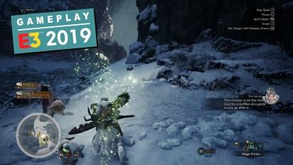 Monster Hunter: World - Iceborne Expansion Gameplay