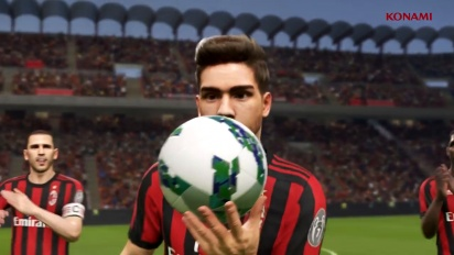 Pro Evolution Soccer 2018 - PES 2018 AC Milan Partnership Trailer