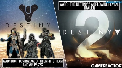 Destiny: Age of Triumph Update & Destiny 2 Reveal - Livestream