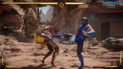Mortal Kombat 11 - Du gameplay avec Sub-Zero, Scorpion et Sonya Blade