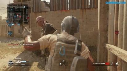 Call of Duty: Modern Warfare Remastered - Domination on Backlot Gameplay
