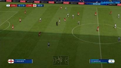 FIFA World Cup 2018 - Argentina vs England Nintendo Switch Gameplay