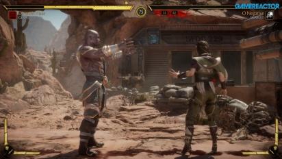 Mortal Kombat 11 - Geras vs Skarlet