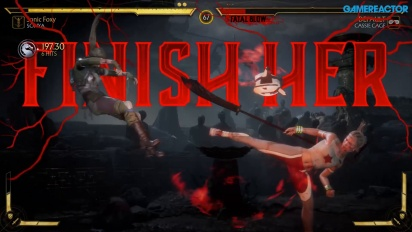 Mortal Kombat 11 - Sonya vs Cassie Cage