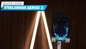 SteelSeries Aerox 3 Wireless - Quick Look