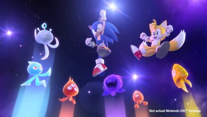 Sonic Colours - DS Trailer