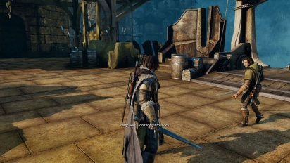 Shadow of Mordor - Standard PS4 Gameplay