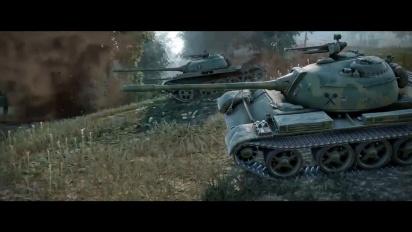 World of Tanks - Console version 4 Year Anniversary Trailer