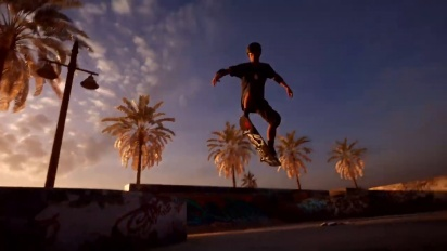 Tony Hawk's Pro Skater 1 and 2 Remaster - Announcement Trailer