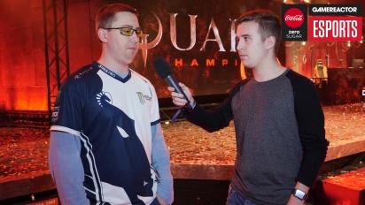 DreamHack Winter - Quake Champions: DaHanG Interview
