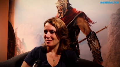 Assassin's Creed Odyssey - Itw de Lydia Andrew