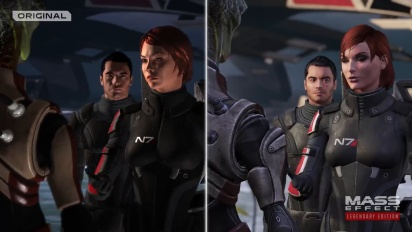 Mass Effect Legendary Edition - Official Remastered Comparison Trailer