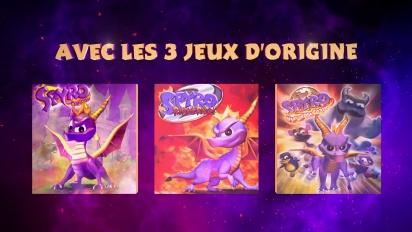 Spyro Reignited Trilogy - Trailer FR