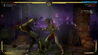 Mortal Kombat 11 - Scorpion vs. Sonya Blade