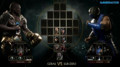 Mortal Kombat 11 - Geras vs. Sub-Zero