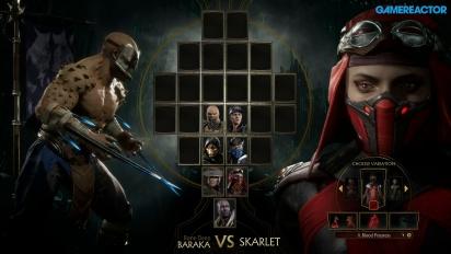 Mortal Kombat 11 - Baraka VS. Skarlet