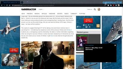 GRTV News - Hitman 3 DLC might be a