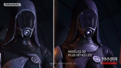 Mass Effect Edition Legendaire : Trailer de comparaison officiel (4K)