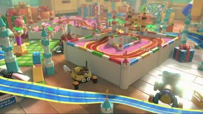 Mario Kart 8 - DLC Pack 2 GBA Ribbon Road Trailer