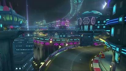 Mario Kart 8 - DLC Pack 2 3DS Koopa City Trailer