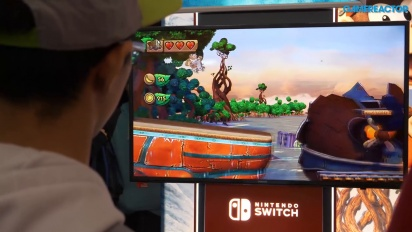 Donkey Kong Country: Tropical Freeze - PAX 2018 Gameplay