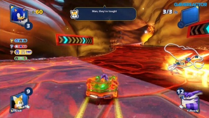 Team Sonic Racing - Hidden Volcano Multi