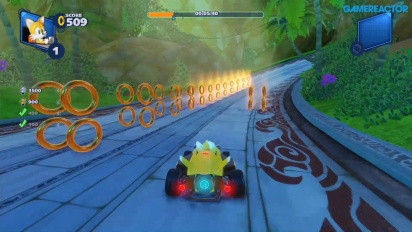 Team Sonic Racing - Lost Palace Ring Challenge